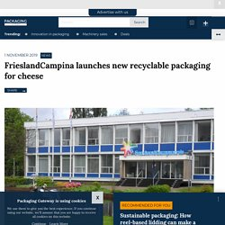 FrieslandCampina launches new recyclable packaging for cheese