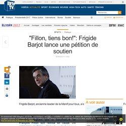« Fillon, tiens bon! »: Frigide Barjot lance une pétition de soutien