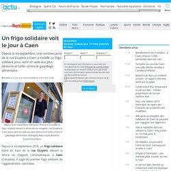 Un frigo solidaire voit le jour à Caen