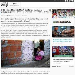 """Des frigos """"solidaires"""" dans les rues en Argentine"""