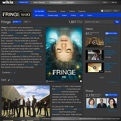 Fringe - Fringe Wiki - TV show, Comics, Walter Bishop and the Pattern