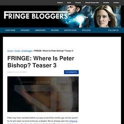FRINGE Teaser 3