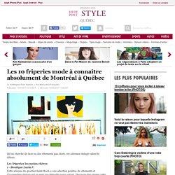 Les 10 friperies mode à connaître absolument de Montréal à Québec