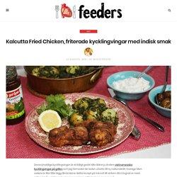 Kalcutta Fried Chicken, friterade kycklingvingar med indisk smak - Feeders
