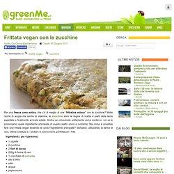 Frittata vegan con le zucchine