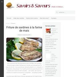 Friture de sardines à la farine de mais