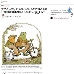 """Frog and Toad"": An Amphibious Celebration of Same-Sex Love"