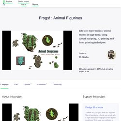 Frogs! : Animal Figurines by XL Studio