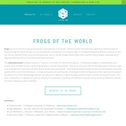 Frogs of the World — Digital Life