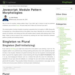 blog.frogslayer.com/javascript-module-pattern/