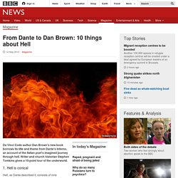From Dante to Dan Brown: 10 things about Hell