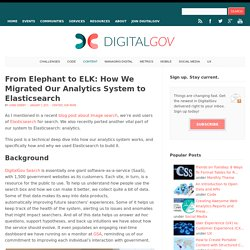 From Elephant To ELK