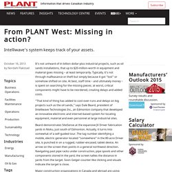 From PLANT West: Missing in action? - PLANT
