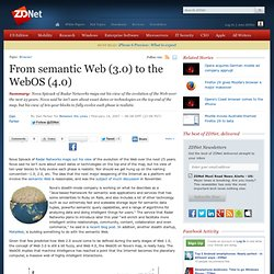 From semantic Web (3.0) to the WebOS (4.0)