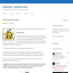 SoshiTech – Soshitech.com