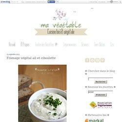 Fromage végétal ail et ciboulette