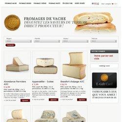 Fromage de Vache - Fromages et Vin - fromage aoc, vente privée