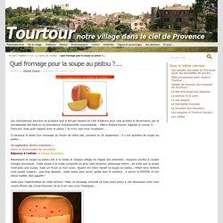 Fromage-soupe au pistou
