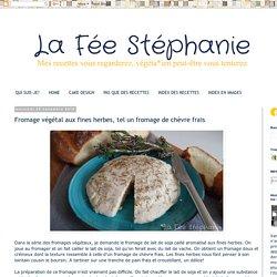 Fromage aux fines herbes, tel un fromage de chèvre frais
