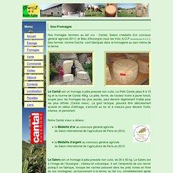 fromagerie – fabrication de fromages fermiers d'Auvergne, Salers, Cantal, Bleu