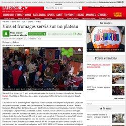 Vins et fromages servis sur un plateau - 16/04/2015 - ladepeche.fr