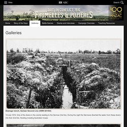 The Battles of Fromelles and Pozières - Galleries