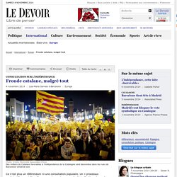 Fronde catalane, malgré tout