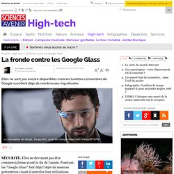 La fronde contre les Google Glass