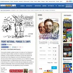 Front National: panique à l'UMPS