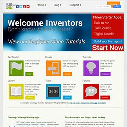 App Inventor Edu | Playing with blocks, building apps