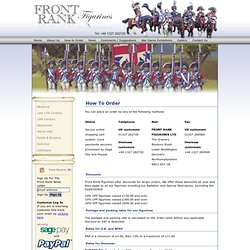Front Rank - How to Order