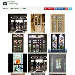 Front Door Stained Glass Panels images