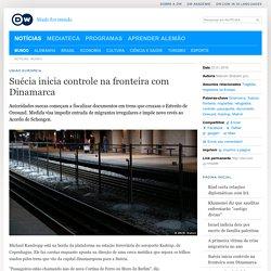 Suécia inicia controle na fronteira com Dinamarca
