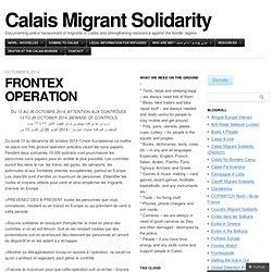 FRONTEX OPERATION