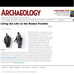 Living the Life on the Roman Frontier