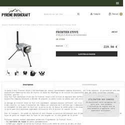 Frontier Stove Camping Solutions