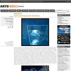 L'art numérique sans frontières