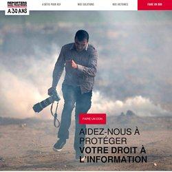 14. RSF - Reporters sans frontière