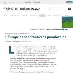 L'Europe et ses frontières paradoxales, par Philippe Rekacewicz (Les blogs du Diplo, 27 novembre 2006)