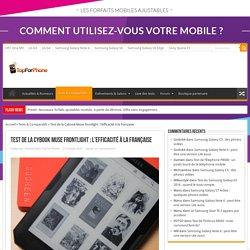 Test de la Cybook Muse frontlight : l'efficacité à la française