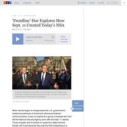 'Frontline' Doc Explores How Sept. 11 Created Today's NSA