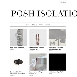 Frontpage – Posh Isolation
