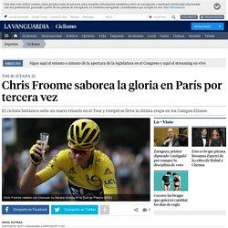 Tour 2016: Chris Froome saborea la gloria en París por tercera vez