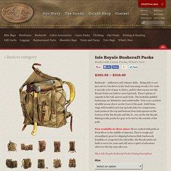 Isle Royale Bushcraft Packs