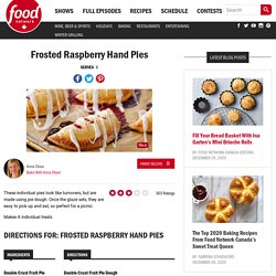 Frosted Raspberry Hand Pies Recipes