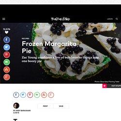 Frozen Margarita Pie - Dessert Recipe by Zac Young