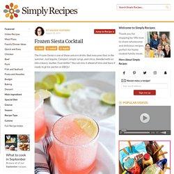 Frozen Siesta Cocktail Recipe