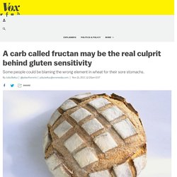 A carb called fructan may be the real culprit behind gluten sensitivity