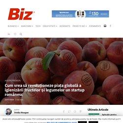Cum vrea să revoluționeze piața globală a igienizării fructelor și legumelor un startup românesc - Revista Biz