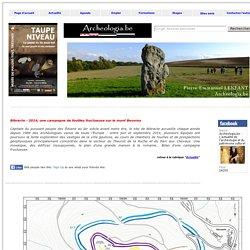 Bibracte - 2014, une campagne de fouilles fructueuse sur le mont Beuvray (Archeologia.be, 15 décembre 2014)